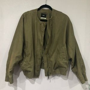 Urban outfitters bomber utility jacket
